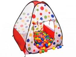 خيمة أطفال مرسوم عليها العاب اطفال